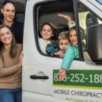 Dr. Landon and Dr. Abigaile Ortiz and Family with the Gardens of Health Chiropractic Mobile Clinic