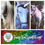 horse fairy hair sparkles